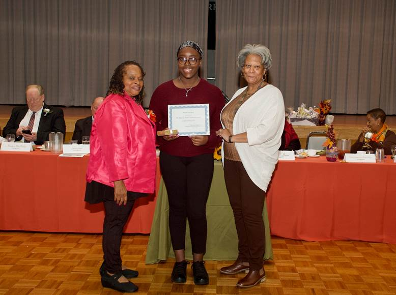 Lady Holding Certificate 1
