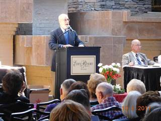 Man Giving Speech